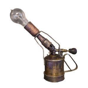 Lampe Löten Sievert Vintage Upcycling