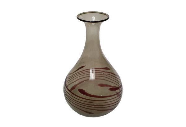 Vase Lauscha Glas Alt 70er