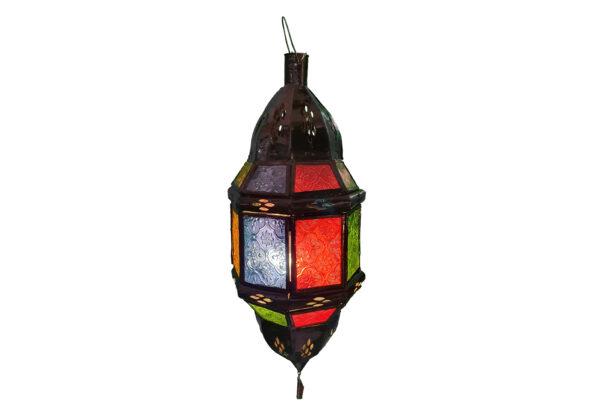 Lampe hängend orientalisch glas