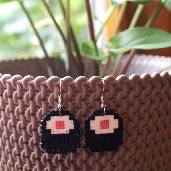 Ohrringe aus Bügelperlen Selbstgemacht im Sushi - Motiv